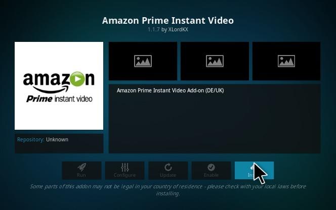 How To Install Amazon Prime Video On Kodi