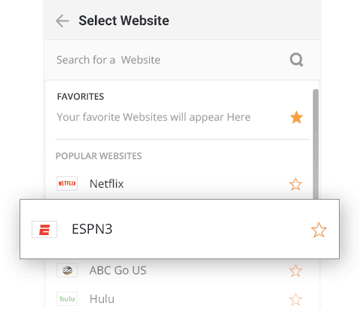 Watch ESPN3 Online