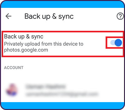 delete photos from google photos only