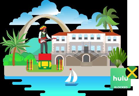 Access hulu in jamaica