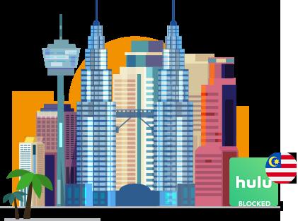 Access Hulu in Malaysia