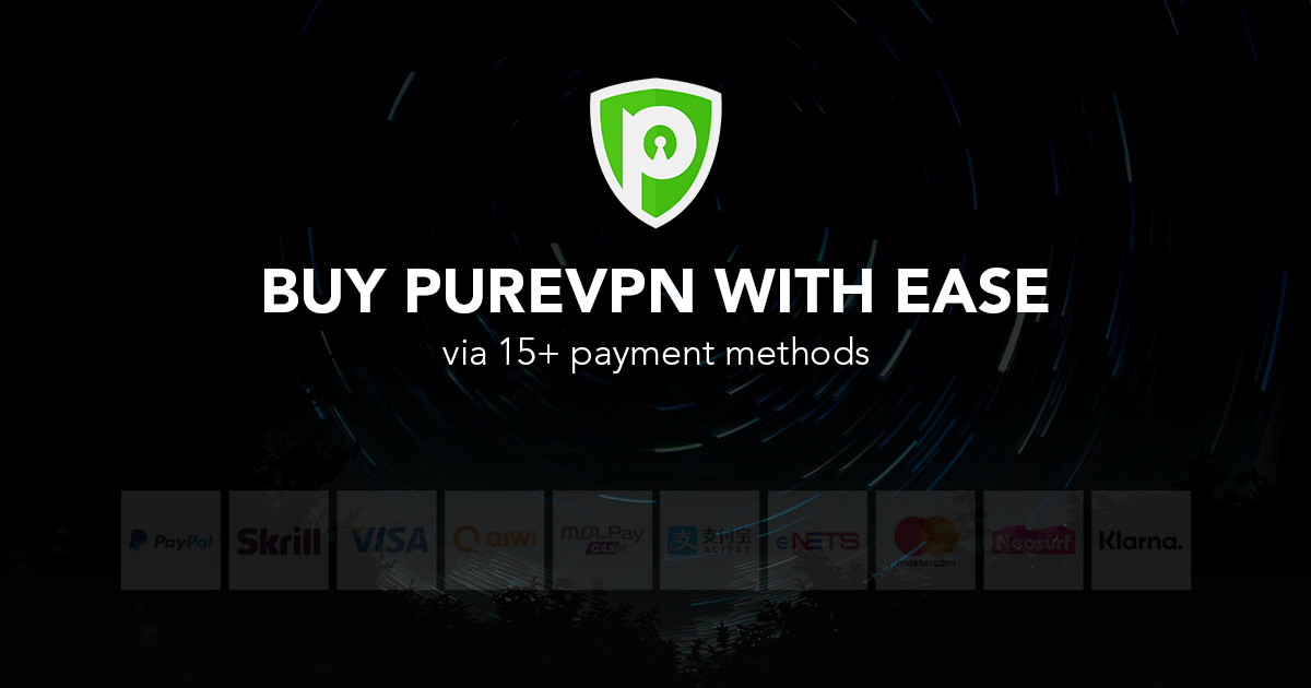 Buy VPN at an Amazing Discount! Pay with Paypal, Credit Card