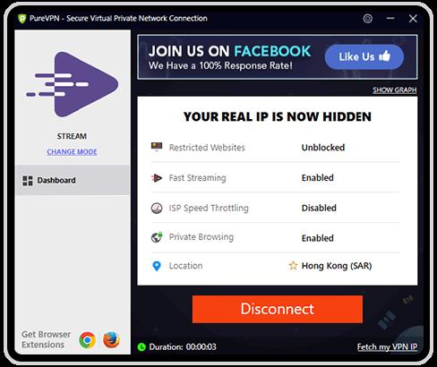VPN for Windows Step 3