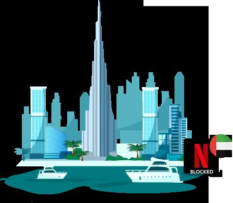 Netflix US is blocked in UAE