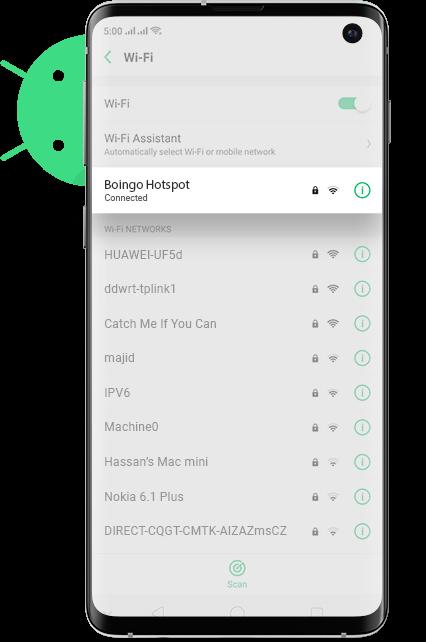 Nashville WiFi Android