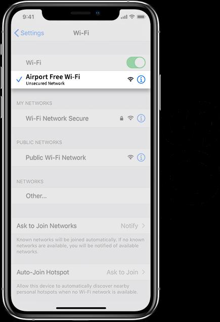 Liverpool Airport Wifi IOS