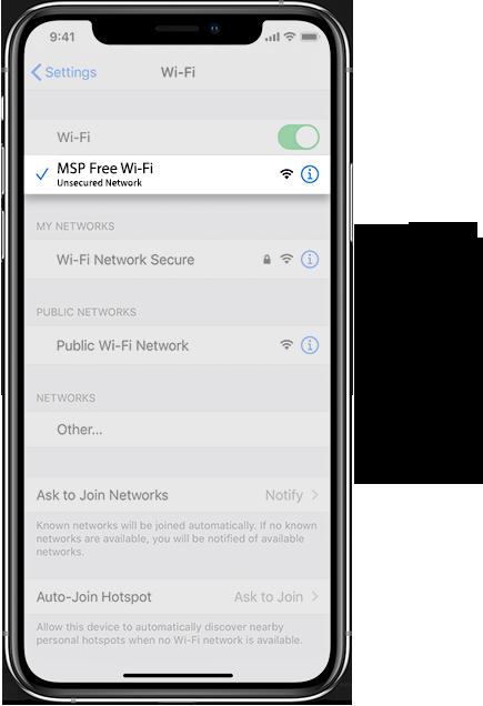 MSP Wifi IOS