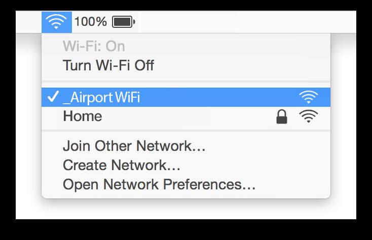 Exeter Airport Wifi Mac