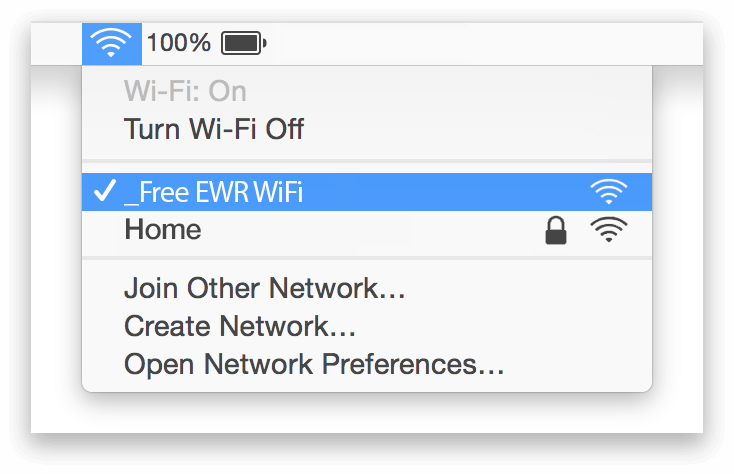 Newark WiFi Mac