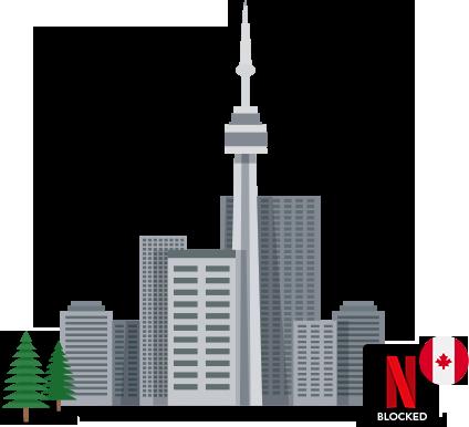 Accéder Netflix US au Canada