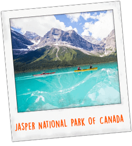 Jasper National Park of Canada