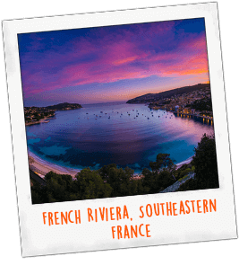 French Riviera, Southeastern France
