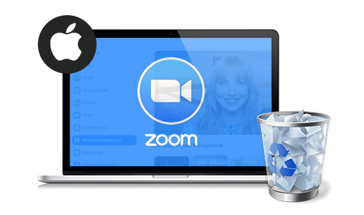 delete zoom on mac