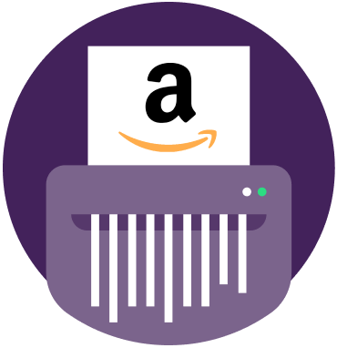 how to close your amazon account icon image