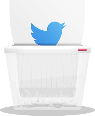 how to delete twitter account