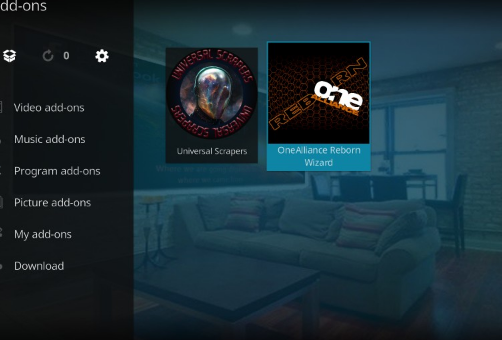Install One Alliance Reborn Kodi Builds