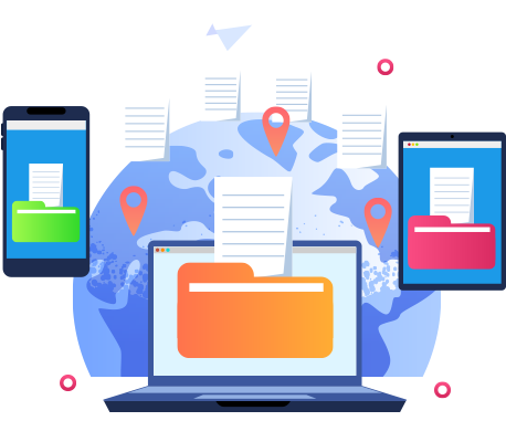 Make the best use of the web by securely downloading files and sharing them with others around the world.