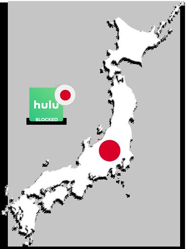 Watch hulu in japan