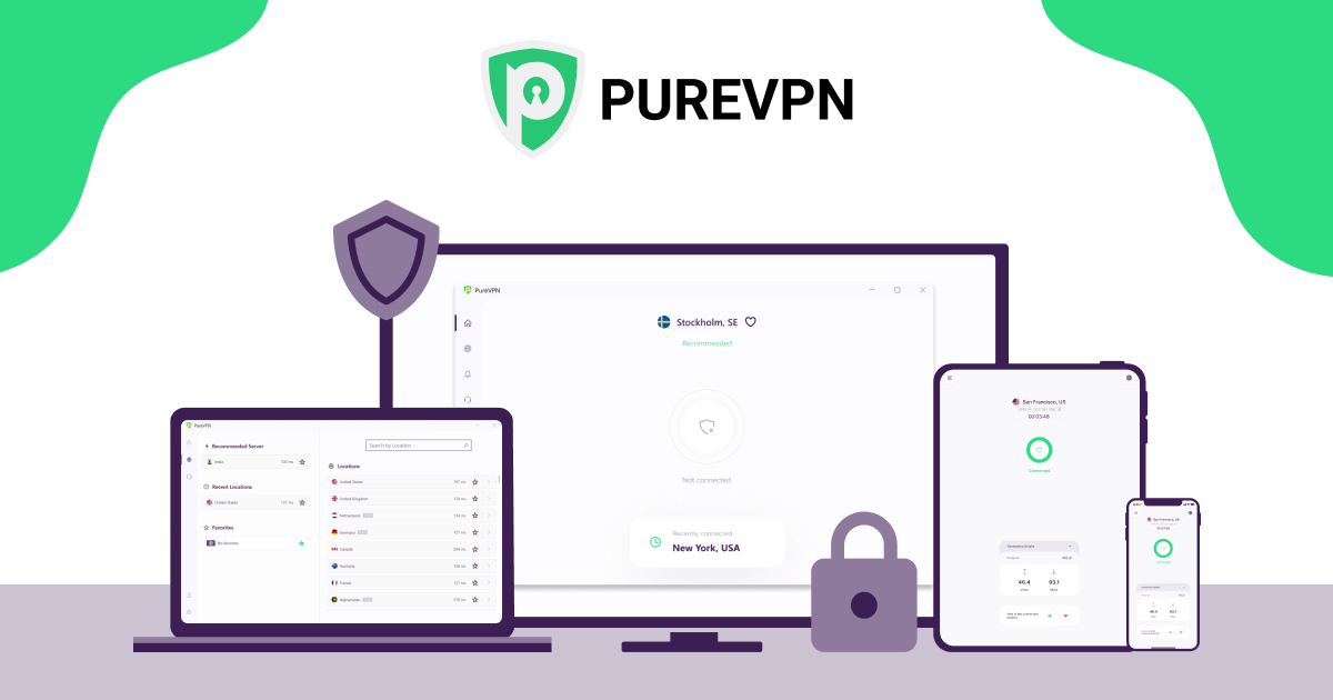 Download Pure Vpn | Crack+Serial key[100% Working]
