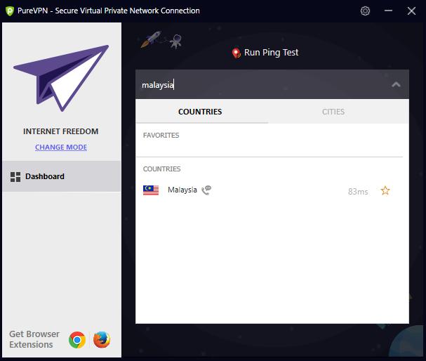 Select Malaysian PUBG Server